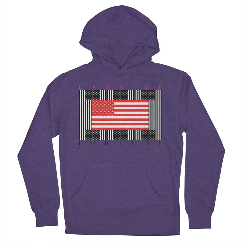 FLAGSICATION Women's Pullover Hoody by Lads of Fortune Artist Shop