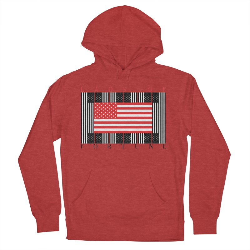 FLAGSICATION Men's Pullover Hoody by Lads of Fortune Artist Shop