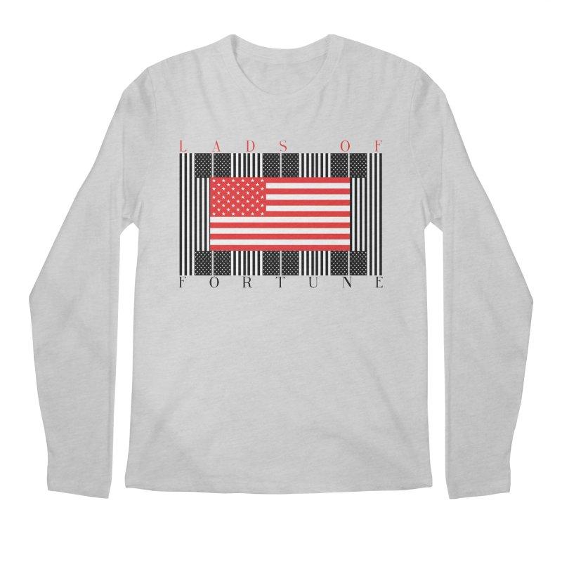 FLAGSICATION Men's Regular Longsleeve T-Shirt by Lads of Fortune Artist Shop
