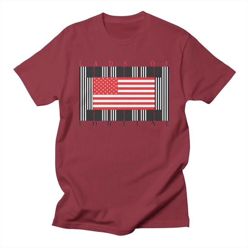 FLAGSICATION Men's Regular T-Shirt by Lads of Fortune Artist Shop