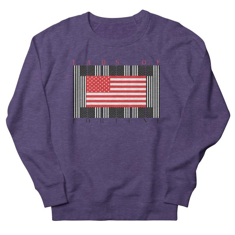 FLAGSICATION Women's Sweatshirt by Lads of Fortune Artist Shop
