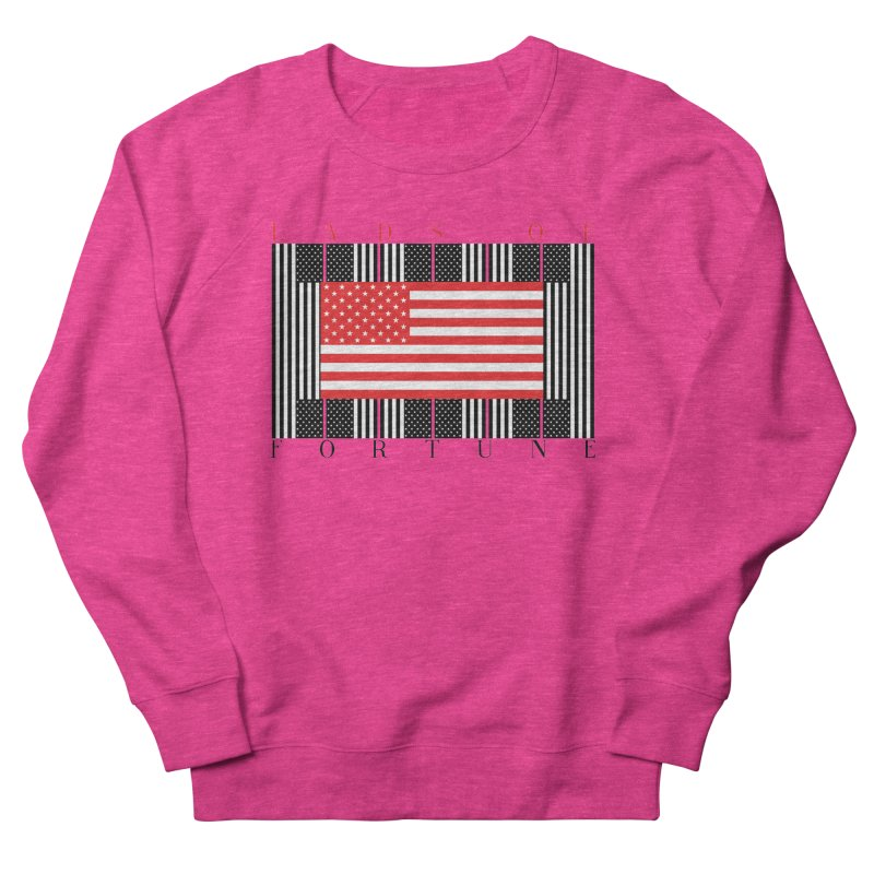 FLAGSICATION Women's Sweatshirt by Lads of Fortune Artist Shop