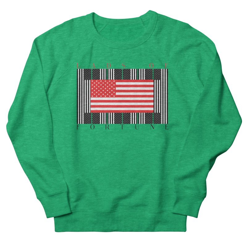 FLAGSICATION Men's Sweatshirt by Lads of Fortune Artist Shop