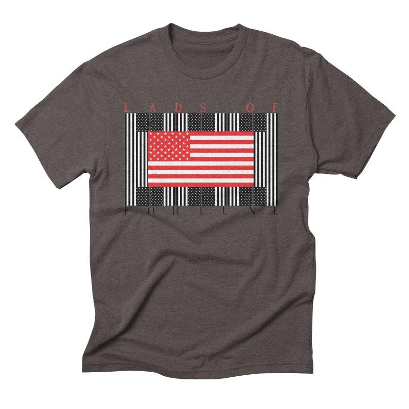 FLAGSICATION Men's Triblend T-Shirt by Lads of Fortune Artist Shop