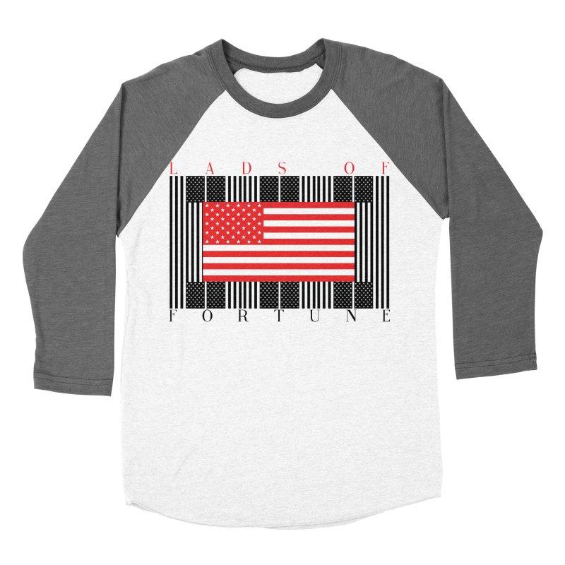 FLAGSICATION Men's Baseball Triblend T-Shirt by Lads of Fortune Artist Shop