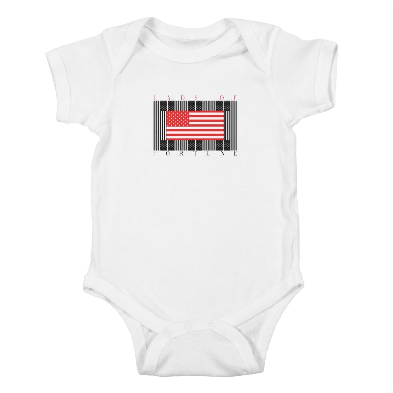 FLAGSICATION Kids Baby Bodysuit by Lads of Fortune Artist Shop