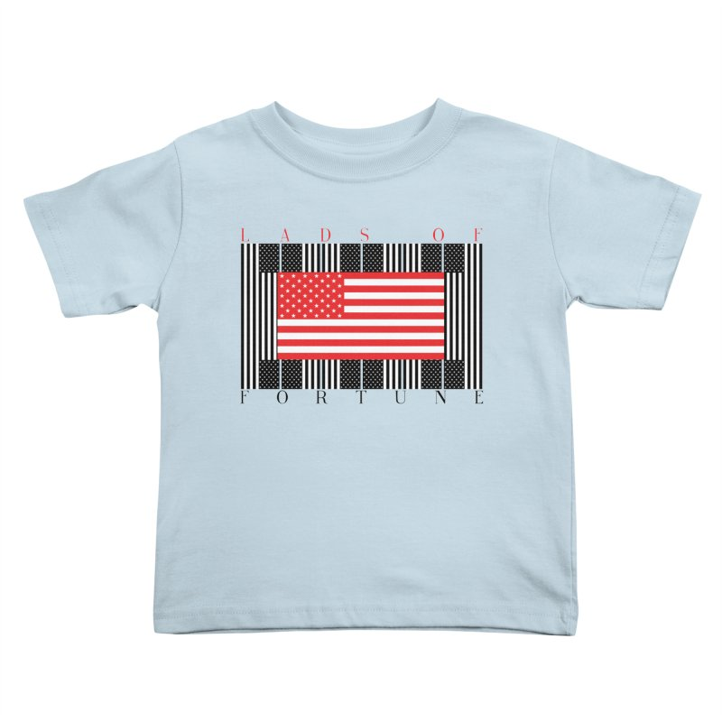 FLAGSICATION Kids Toddler T-Shirt by Lads of Fortune Artist Shop