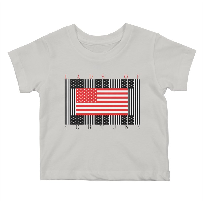 FLAGSICATION Kids Baby T-Shirt by Lads of Fortune Artist Shop