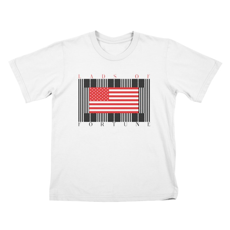 FLAGSICATION Kids T-shirt by Lads of Fortune Artist Shop