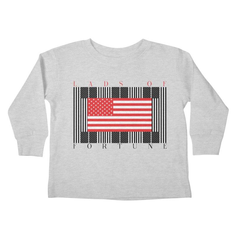 FLAGSICATION Kids Toddler Longsleeve T-Shirt by Lads of Fortune Artist Shop