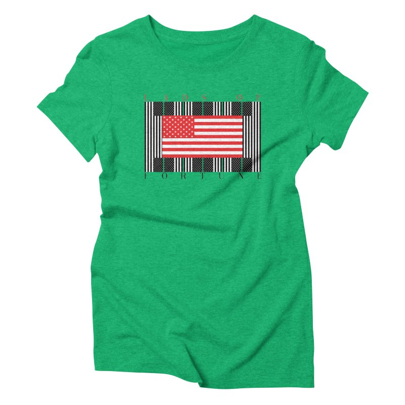FLAGSICATION Women's Triblend T-Shirt by Lads of Fortune Artist Shop