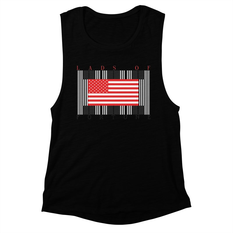 FLAGSICATION Women's Muscle Tank by Lads of Fortune Artist Shop