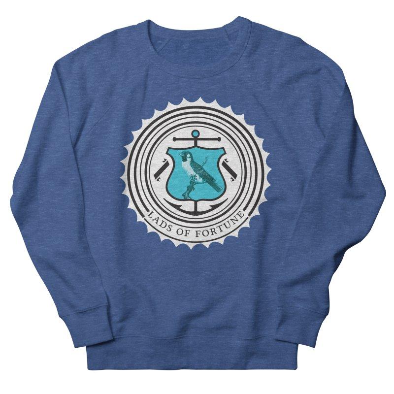 Blue Bird Men's Sweatshirt by Lads of Fortune Artist Shop