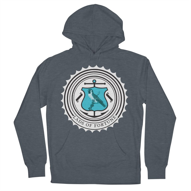Blue Bird Women's Pullover Hoody by Lads of Fortune Artist Shop