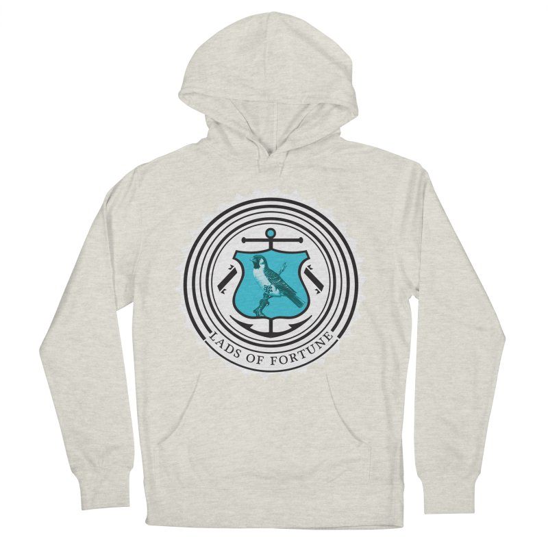 Blue Bird Men's Pullover Hoody by Lads of Fortune Artist Shop