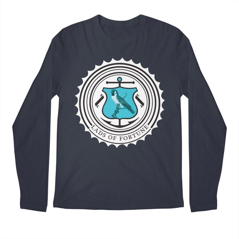 Blue Bird Men's Regular Longsleeve T-Shirt by Lads of Fortune Artist Shop