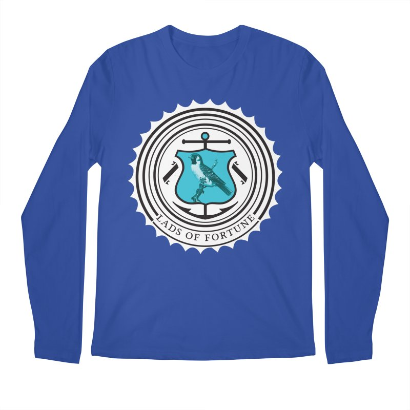 Blue Bird Men's Longsleeve T-Shirt by Lads of Fortune Artist Shop