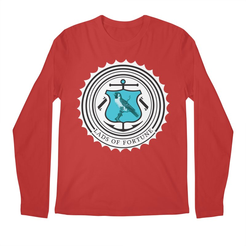 Blue Bird Men's Longsleeve T-Shirt by Lads of Fortune Artist Shop