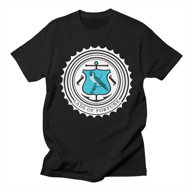 Blue Bird Men's Regular T-Shirt by Lads of Fortune Artist Shop