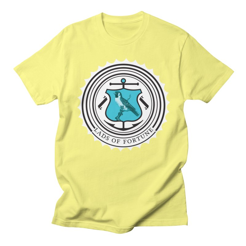 Blue Bird Men's T-shirt by Lads of Fortune Artist Shop