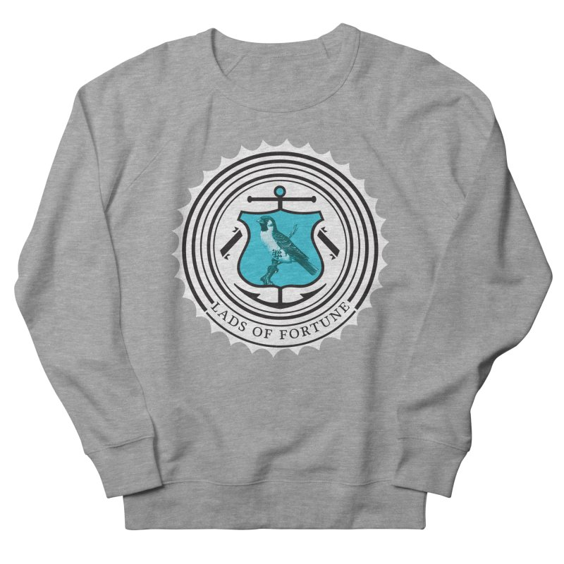 Blue Bird Women's French Terry Sweatshirt by Lads of Fortune Artist Shop