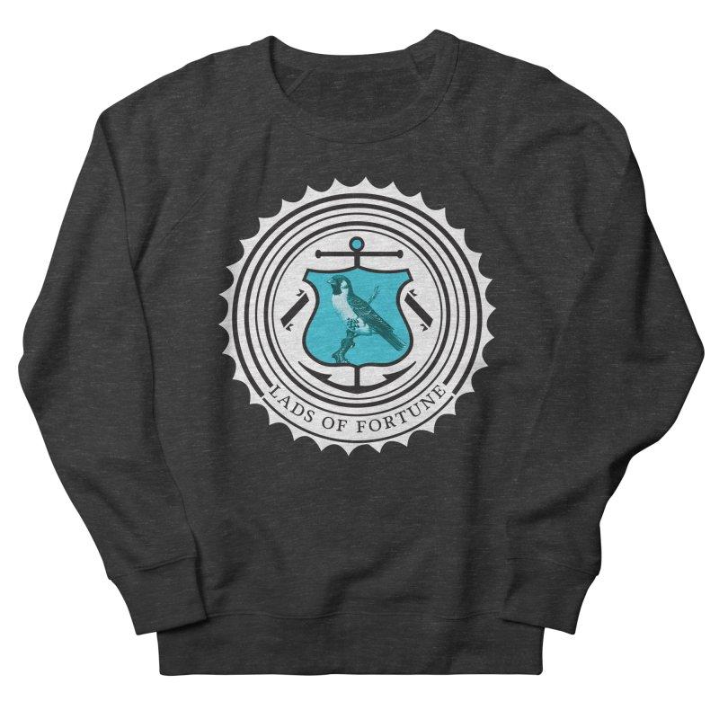 Blue Bird Men's French Terry Sweatshirt by Lads of Fortune Artist Shop