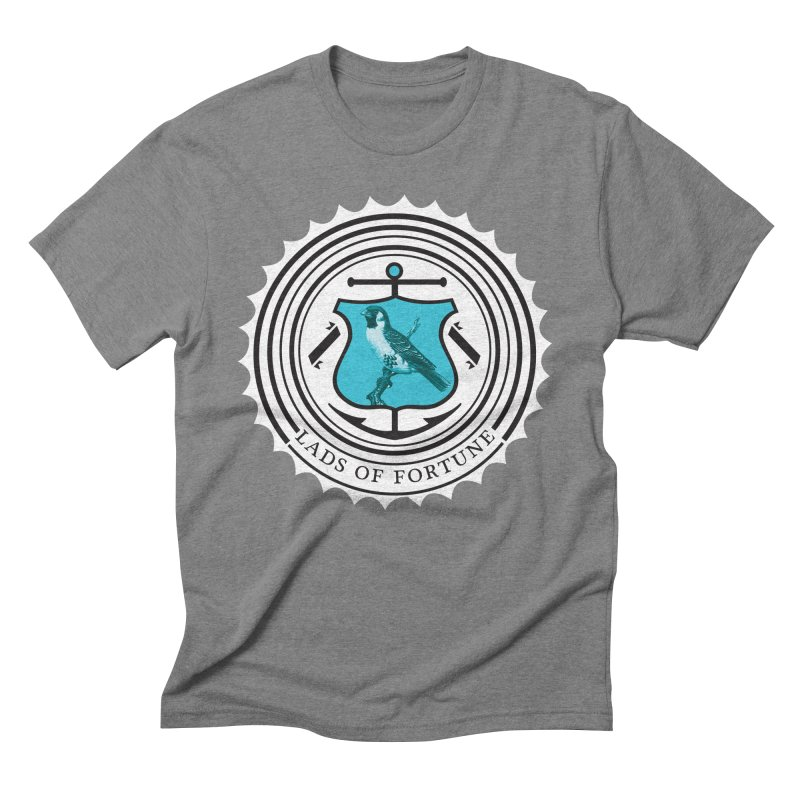 Blue Bird Men's Triblend T-Shirt by Lads of Fortune Artist Shop