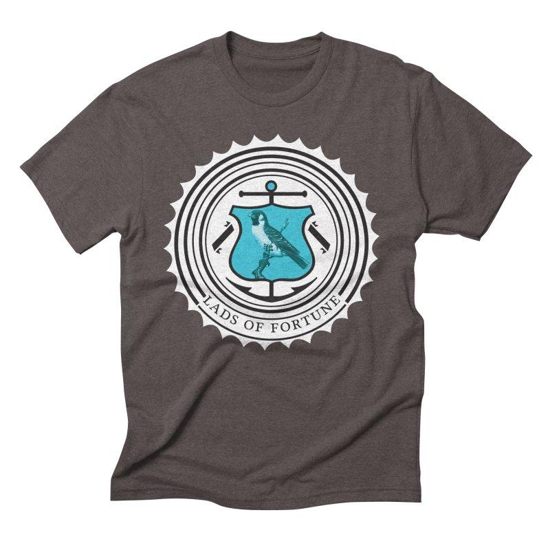 Blue Bird Men's Triblend T-Shirt by Lads of Fortune Artist Shop