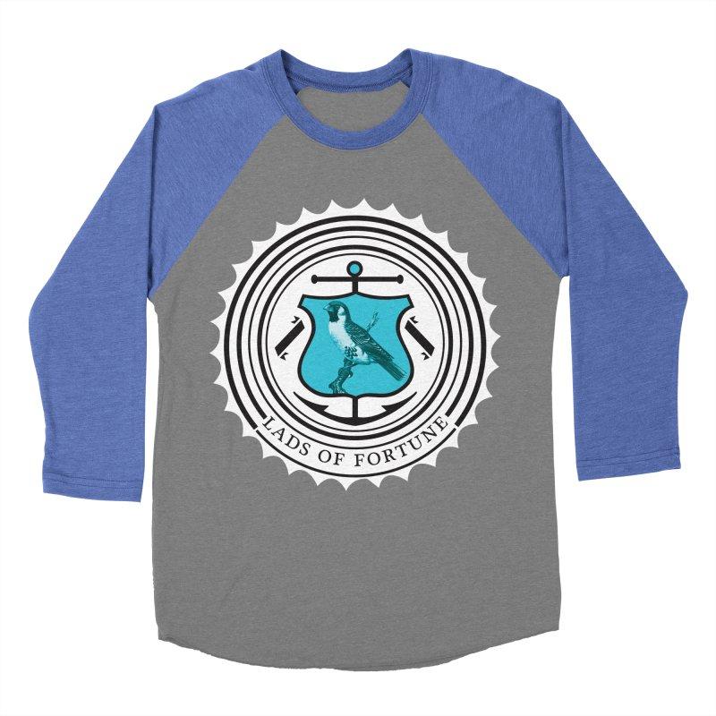 Blue Bird Men's Baseball Triblend T-Shirt by Lads of Fortune Artist Shop