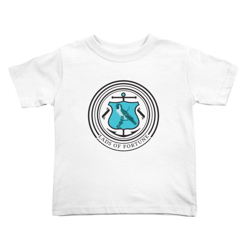 Blue Bird Kids Toddler T-Shirt by Lads of Fortune Artist Shop