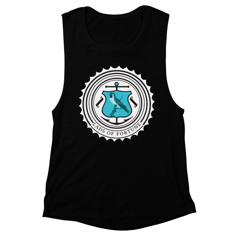 Blue Bird Women's Muscle Tank by Lads of Fortune Artist Shop