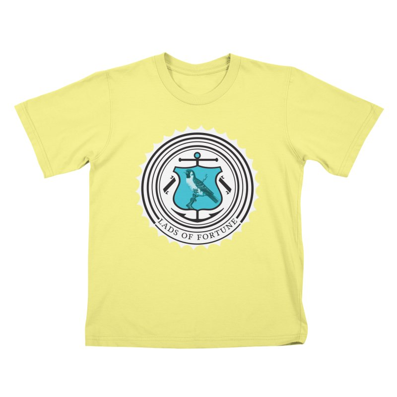 Blue Bird Kids T-shirt by Lads of Fortune Artist Shop