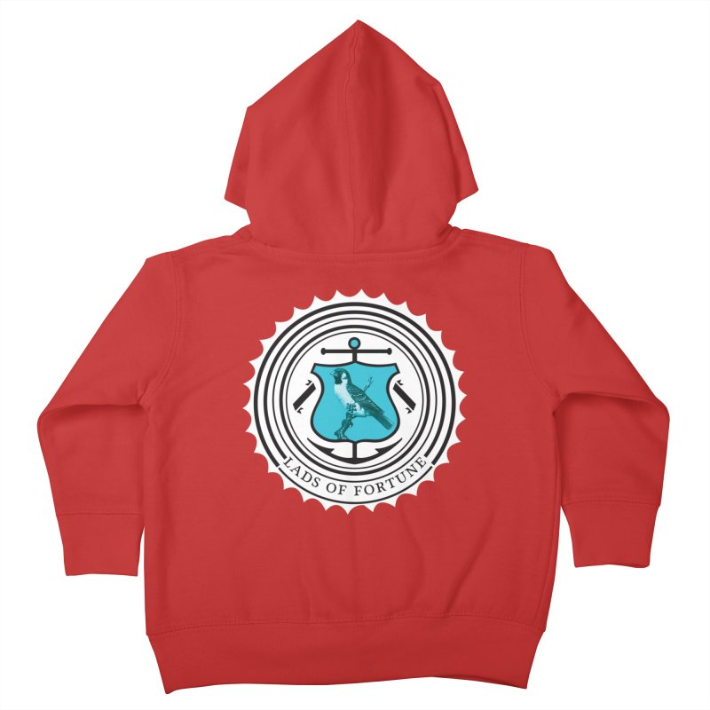 Blue Bird Kids Toddler Zip-Up Hoody by Lads of Fortune Artist Shop