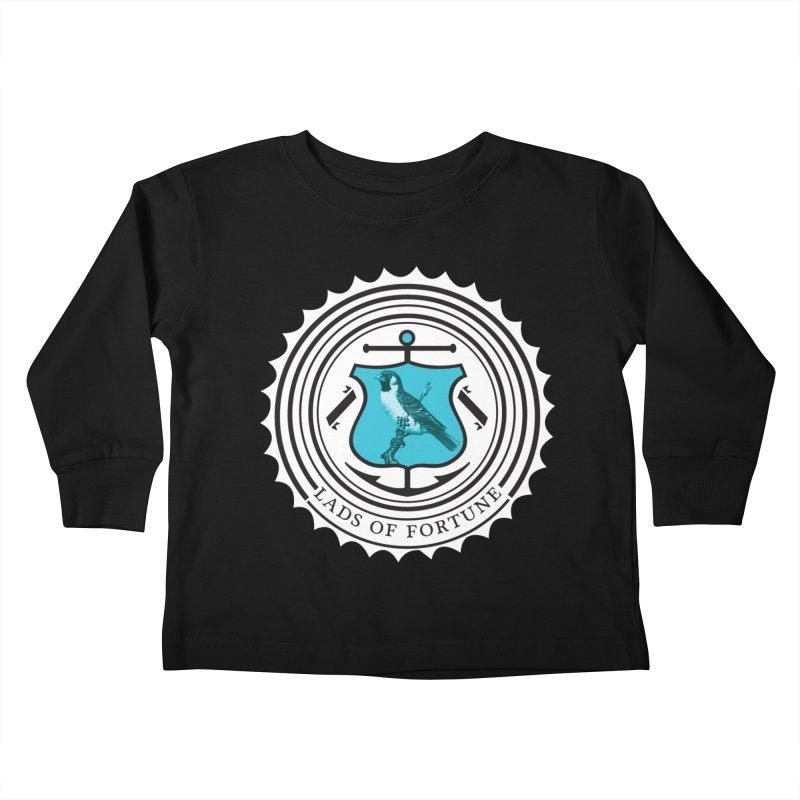 Blue Bird Kids Toddler Longsleeve T-Shirt by Lads of Fortune Artist Shop