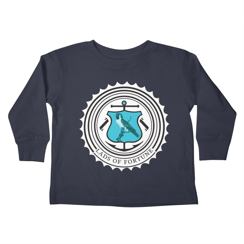 Blue Bird Kids Toddler Longsleeve T-Shirt by Lads of Fortune Artist Shop