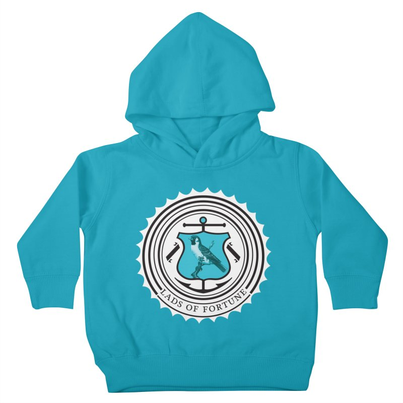 Blue Bird Kids Toddler Pullover Hoody by Lads of Fortune Artist Shop