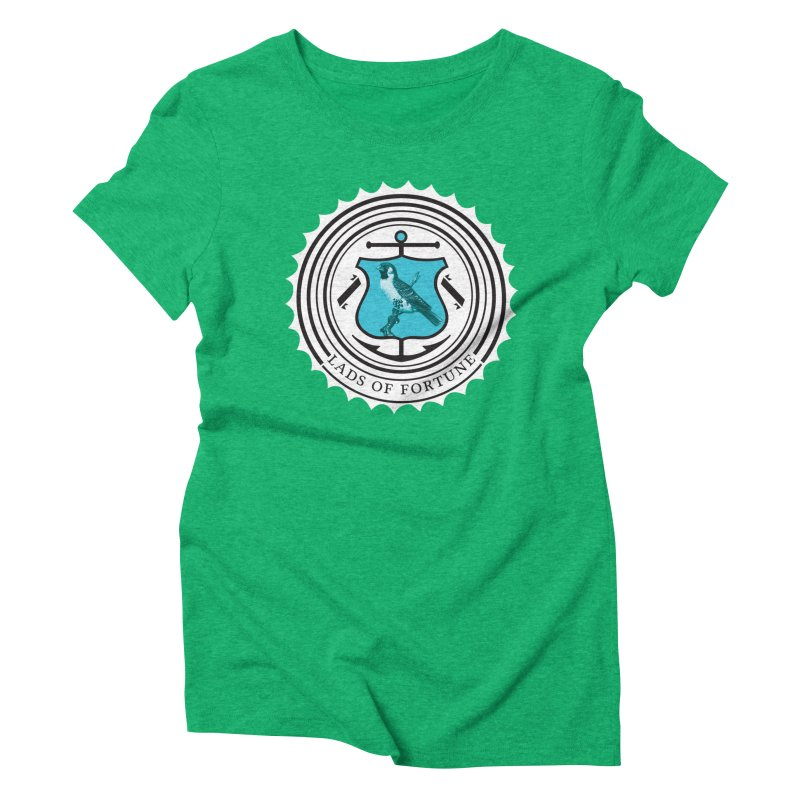 Blue Bird Women's Triblend T-Shirt by Lads of Fortune Artist Shop