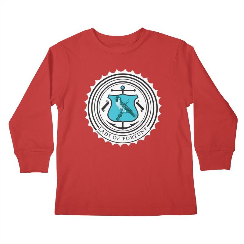 Blue Bird Kids Longsleeve T-Shirt by Lads of Fortune Artist Shop