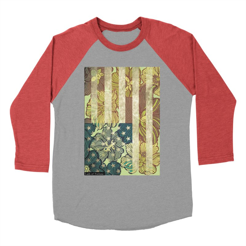 Floral Flag Hue Women's Longsleeve T-Shirt by Lads of Fortune Artist Shop