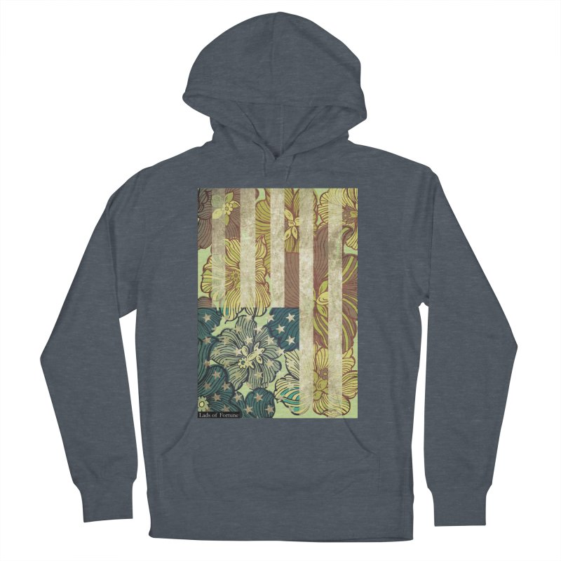 Floral Flag Hue Women's Pullover Hoody by Lads of Fortune Artist Shop