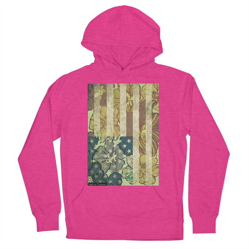 Floral Flag Hue Men's Pullover Hoody by Lads of Fortune Artist Shop