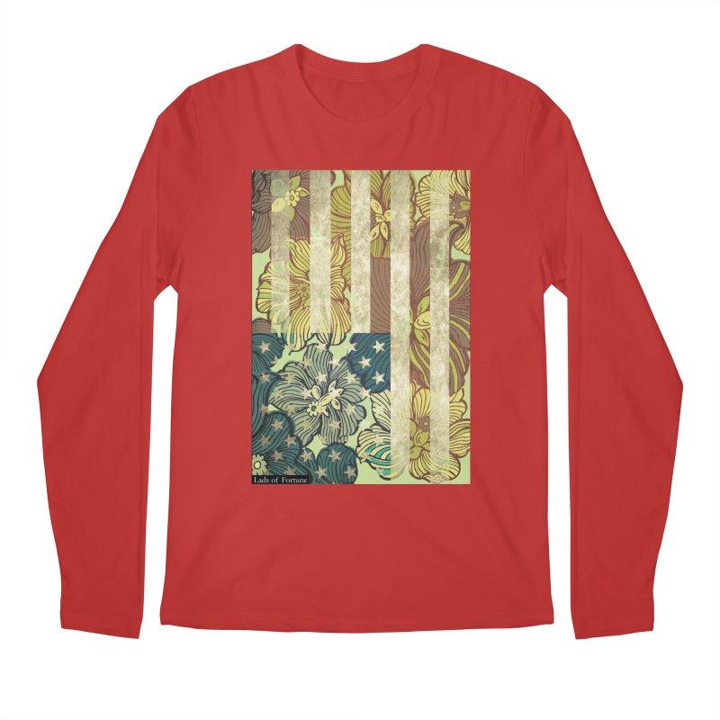Floral Flag Hue Men's Longsleeve T-Shirt by Lads of Fortune Artist Shop