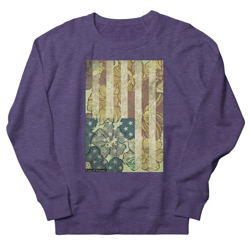 Floral Flag Hue Women's Sweatshirt by Lads of Fortune Artist Shop