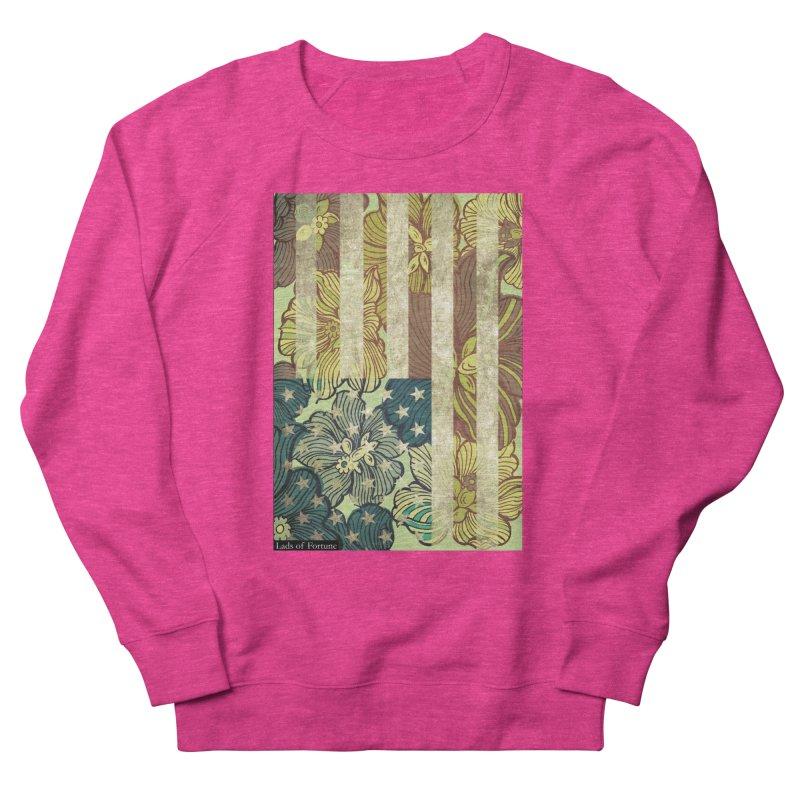 Floral Flag Hue Women's Sweatshirt by Lads of Fortune Artist Shop