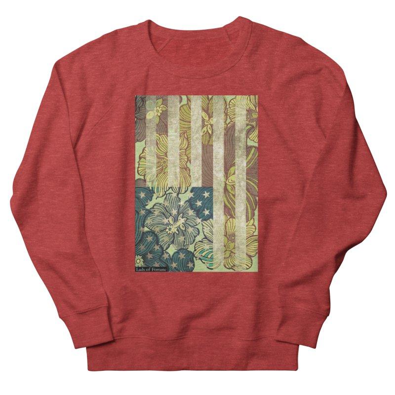 Floral Flag Hue Men's Sweatshirt by Lads of Fortune Artist Shop