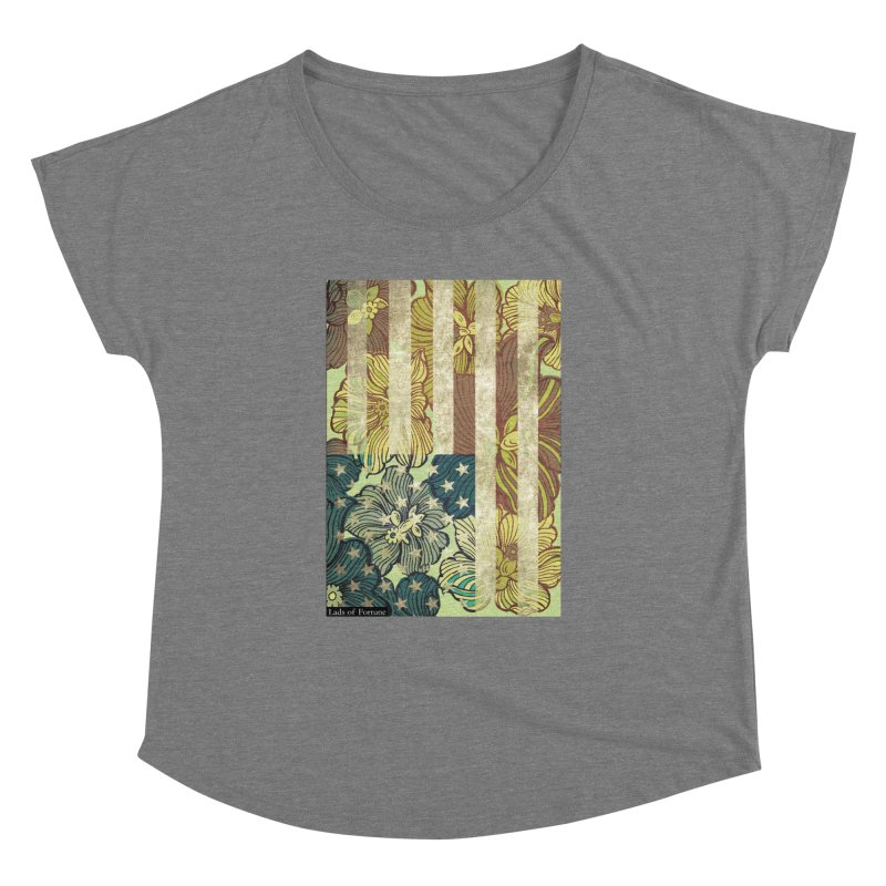 Floral Flag Hue Women's Dolman by Lads of Fortune Artist Shop