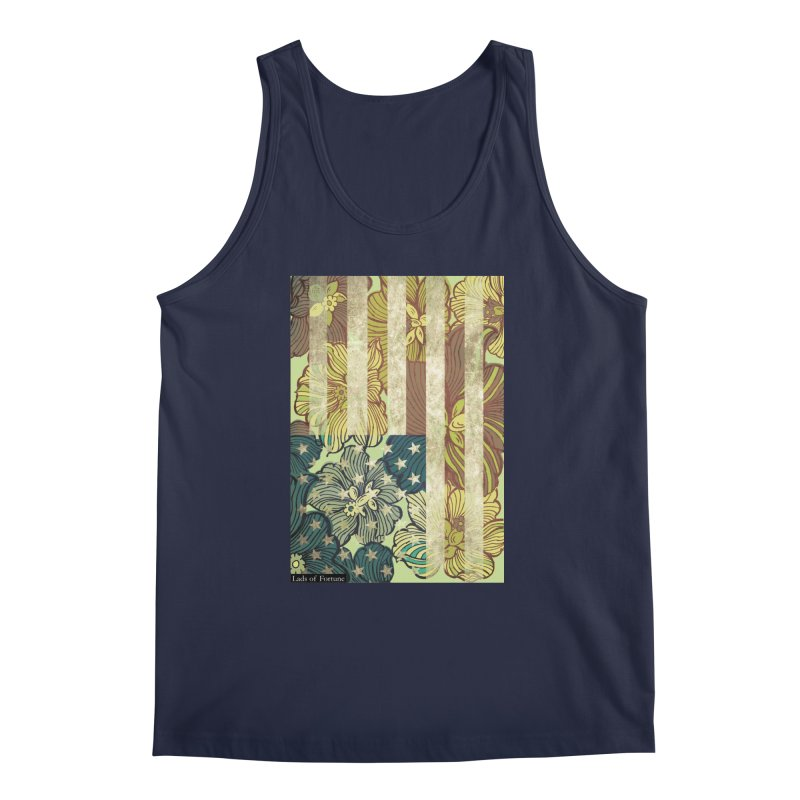 Floral Flag Hue Men's Regular Tank by Lads of Fortune Artist Shop