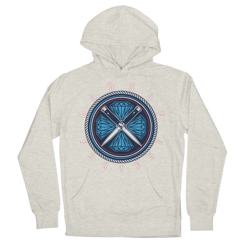 Blue Diamond Edition  Women's Pullover Hoody by Lads of Fortune Artist Shop