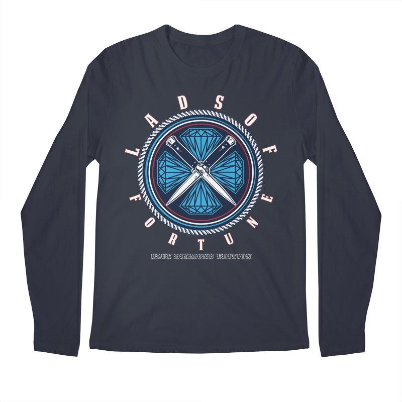 Blue Diamond Edition  Men's Longsleeve T-Shirt by Lads of Fortune Artist Shop