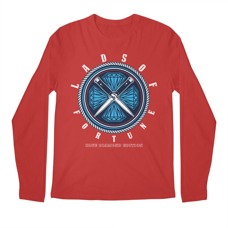 Blue Diamond Edition  Men's Regular Longsleeve T-Shirt by Lads of Fortune Artist Shop